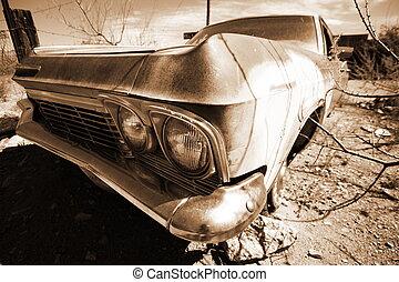 antikvitet, bil