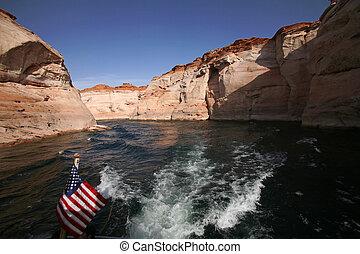 Glen Canyon National Recreation area,Lake Powell , Arizona, USA