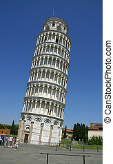 Leaning tower of Pisa1 - The famous leaning tower of Pisa,...