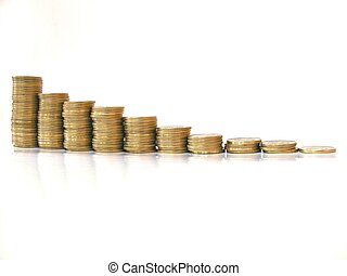 business money - isolated money image