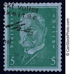 Deutsches Reich stamp Hindenburg - Deutsches Reich postage...