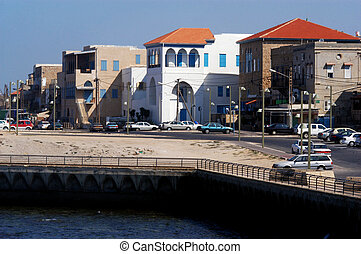 Akko cityscape Israel - The cityscape of Acre (Akko),...