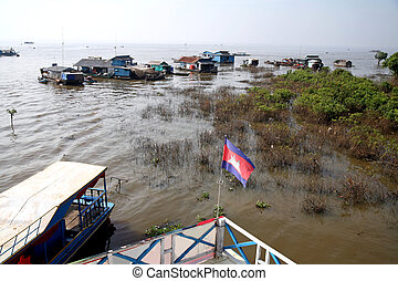 The Floating House - Tonle Sap, Cambodia