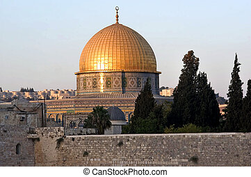 The Golden Dome of the Rock