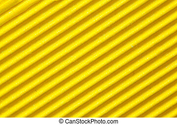 yellow corrugated cardboard paper background