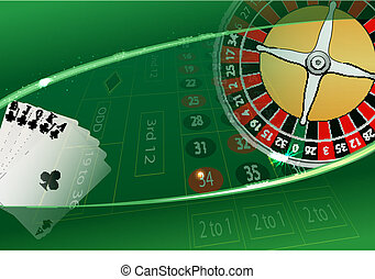 casino - vector casino background, eps10 file, transparency...