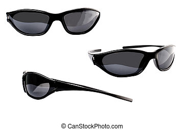 set of unisex solar glasses sport style