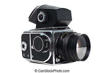 Old clssic medium format camera