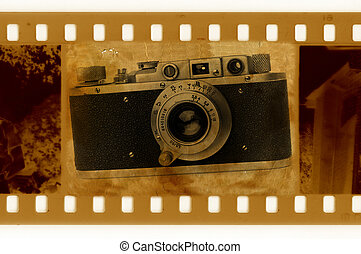 oldies 35mm with retro photo camera