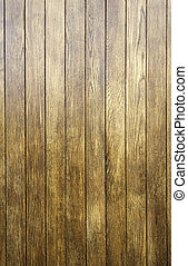 Wooden slats - Sheets of wood, oak, brown, varnished wood