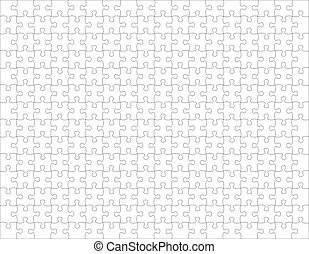 blank puzzle - puzzle pieces, image applicable to several...