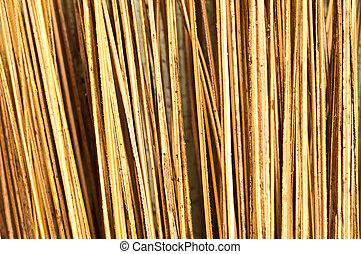 coconut leaf stalk