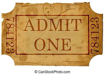 ticket admit one