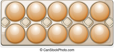 eggs in a packet