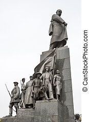 Taras Shevchenko monument in Kharkov - Monument to Taras...