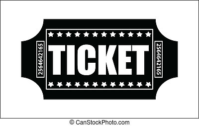 Ticket Vector - Creative Abstract Conceptual Design Art of...