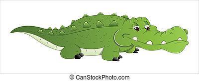 Crocodile Vector - Creative Abstract Conceptual Design Art...