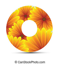 CD DVD Sticker Vector