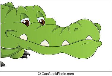 Alligator Vector - Creative Abstract Conceptual Design Art...