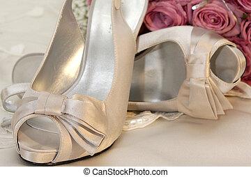 High Heel - A pair of women high heel shoes