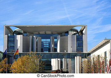 German Chancellery Berlin - the German Chancellery,...