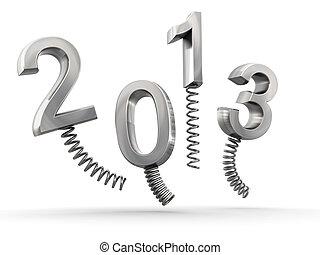 Year 2013 new year celebration