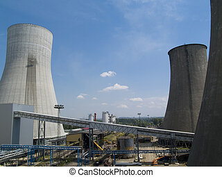 Cooling Towers at an electricity generating station