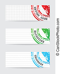 rubber stamp with special design