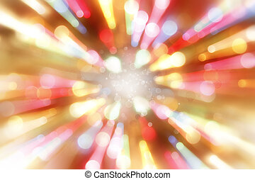 Abstract background - Bright blast of light background