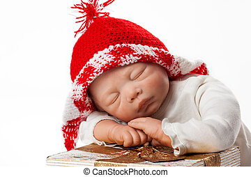 Baby Doll with Christmas Cap - Christmas Baby Doll Boy with...