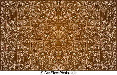 Vintage ornament. Luxury texture. Background abstract.