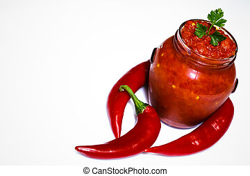 Ajvar, a delicious roasted red pepper