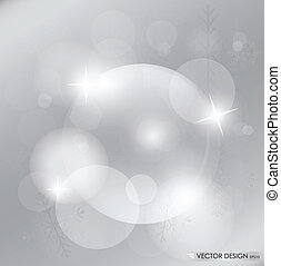 Light silver abstract Christmas background with white...