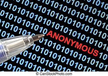 Anonymous Symbolism