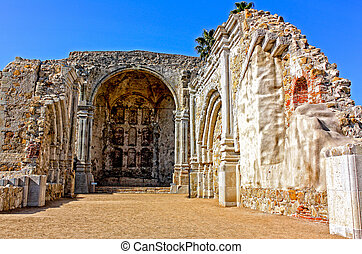 1812 Earthquake Ruins Mission San Juan Capistrano