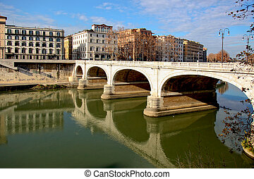 Ponte Cavour Rome - Ponte Cavour is a bridge in Rome,...