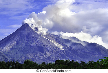 Mt. Merapi - C. Java - Indonesia - The most active volcano...