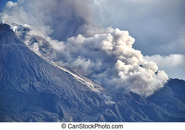 Active Volcano - Java - Indonesia - The most active volcano...