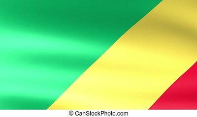 Congo Flag Waving