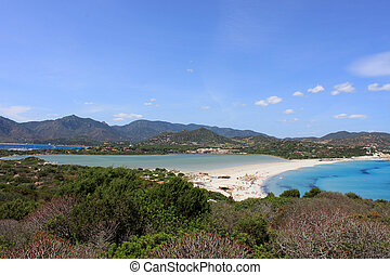 Porto giunco beach, Villasimius, Sa - The beautiful Porto...