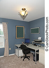 Work At Home Office - Spacious home office in a new house