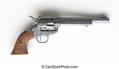 revólver, potro, modelo, 1873