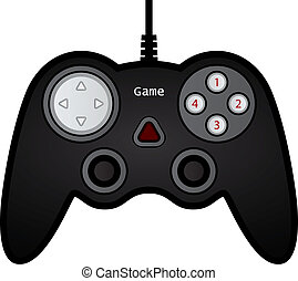 vector gamepad joystick game controller