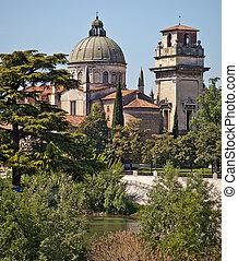 """Castel Vecchio in Verona - The """"Castel Vecchio in Verona, in..."""