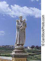 Statue in Malta