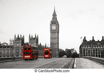 Westminster Palace - Palace of Westminster seen from South...