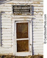 Old Battered Door