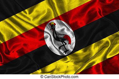 Silk Flag of Uganda