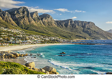 Cape Town Beach - The beautiful city of Cape Town, with its...