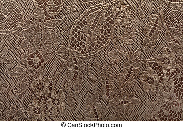 Leather floral lace background - Leather floral pattern...